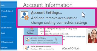 Outlook Account Settings1