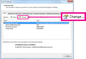 Outlook Account Settings2